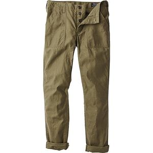 Filson Lightweight Button Fly Supply Pants Olive
